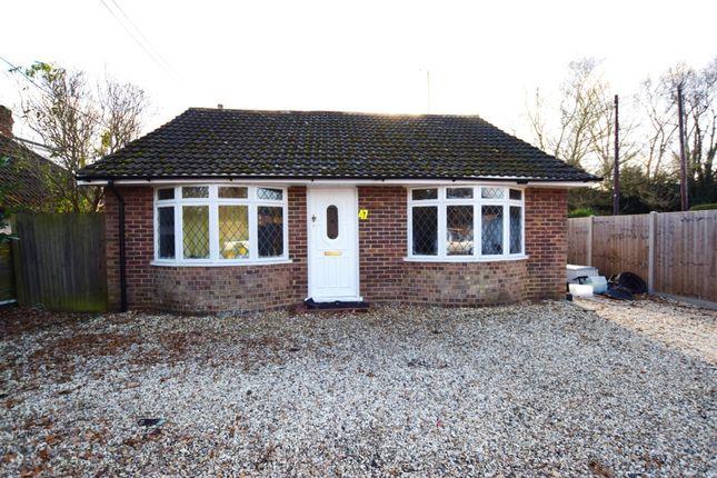 Thumbnail Detached bungalow for sale in Station Road East, Ash Vale, Guildford, Surrey