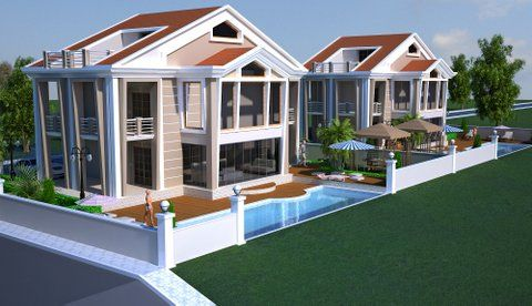 Thumbnail Villa for sale in Akbük, Aydın, Aegean, Turkey