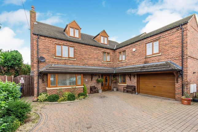 Thumbnail 7 bed detached house for sale in Whiphill Lane, Armthorpe, Doncaster