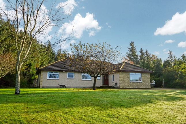 Thumbnail Detached bungalow for sale in Stoneleigh, Easter Lawrenceton, Elgin