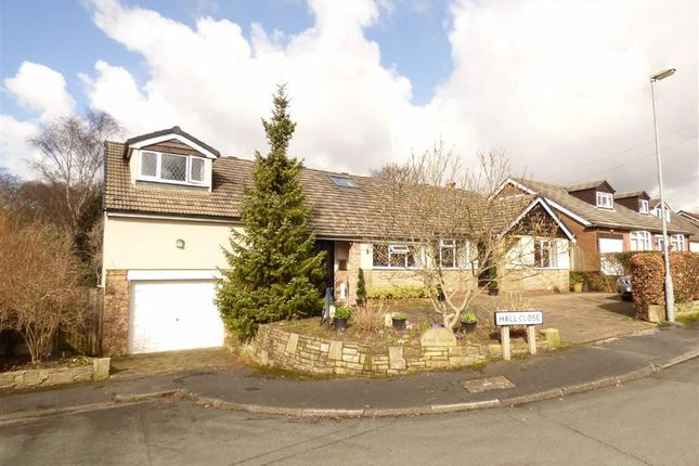 Thumbnail Detached bungalow for sale in Hall Close, Macclesfield, Cheshire