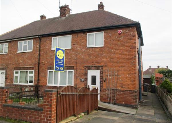 Thumbnail Semi-detached house for sale in Church Walk, Brinsley, Nottingham
