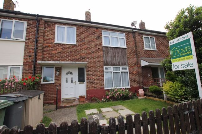 Thumbnail Terraced house for sale in Oxley Avenue, Moreton, Wirral