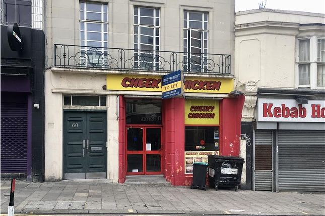 Thumbnail Restaurant/cafe to let in 60 West Street, Brighton, East Sussex