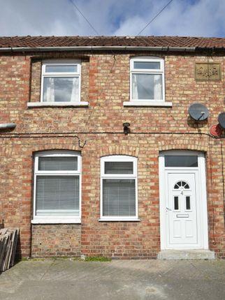 Thumbnail Terraced house for sale in Athol Square, Norton, Malton