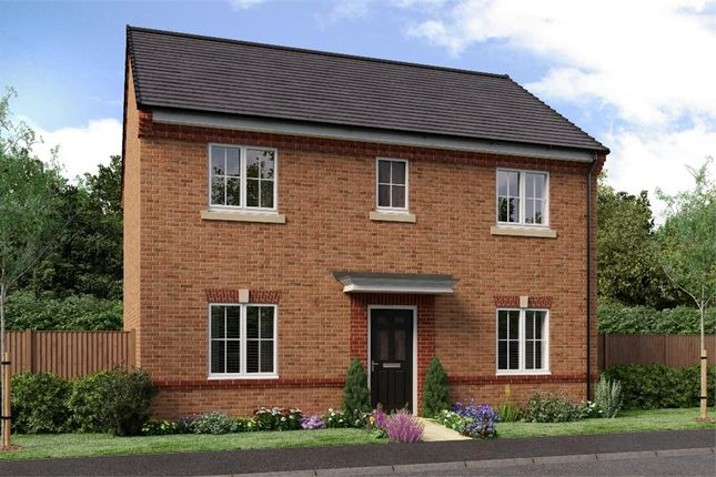 "Thumbnail Detached house for sale in ""The Buchan"" at Weldon Road, Cramlington"