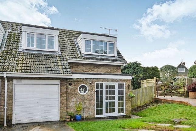Thumbnail Semi-detached house for sale in Nursery Fields, Hythe