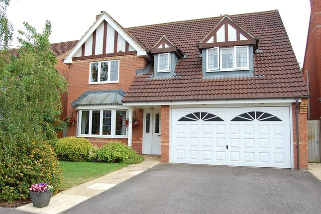 Thumbnail Detached house for sale in Cornbrash Rise, Hilperton, Trowbridge