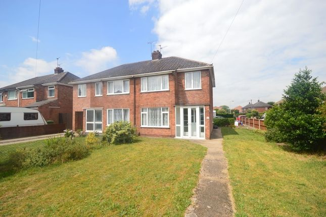 Thumbnail Semi-detached house to rent in Hykeham Road, Lincoln