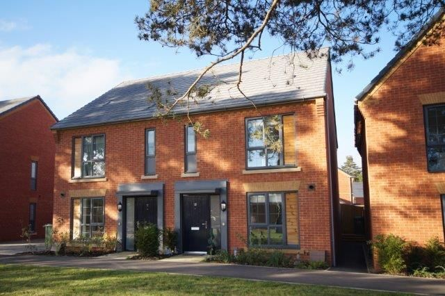 Thumbnail Semi-detached house for sale in Sidney Martin Road, Bordon