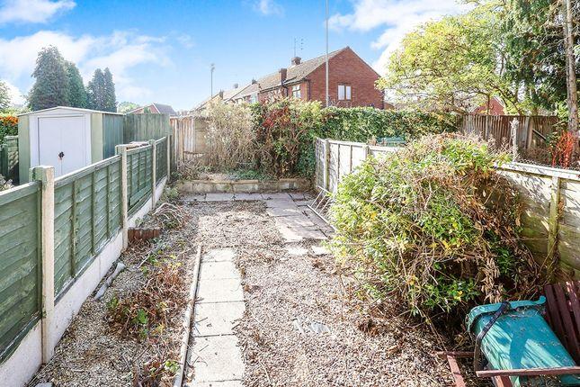Rear Garden of Merridale Road, Wolverhampton WV3