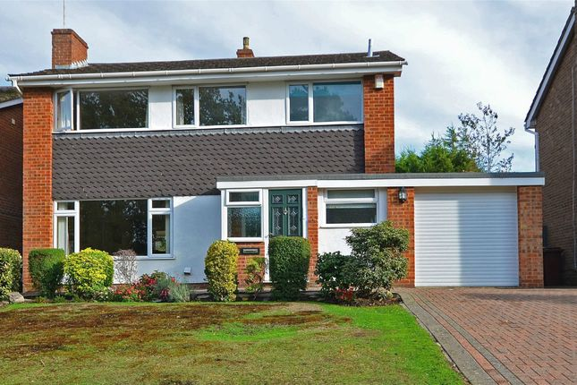 Thumbnail Detached house for sale in Croft Way, Frimley, Camberley, Surrey
