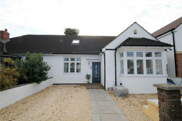 Thumbnail Semi-detached bungalow for sale in Wesley Avenue, Hanham, Bristol