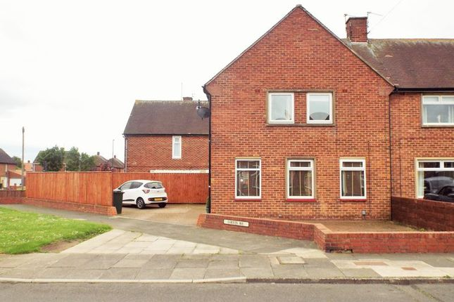Thumbnail Semi-detached house to rent in Lorton Avenue, North Shields