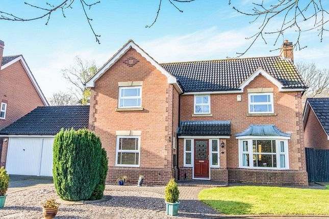 Thumbnail Detached house for sale in Swanholme Close, Lincoln