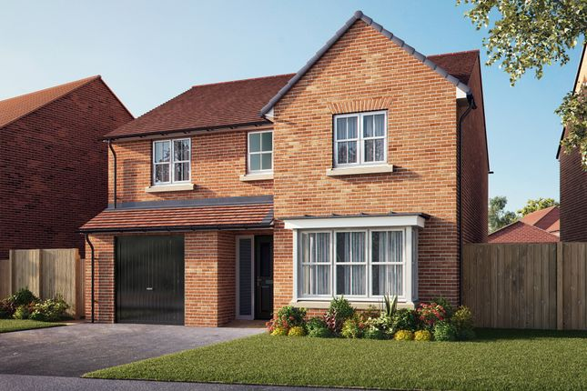 "Thumbnail Detached house for sale in ""The Haxby"" at Southfield Lane, Tockwith, York"