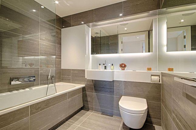 Bathroom of 1 Riverlight Quay, Nine Elms, London SW11