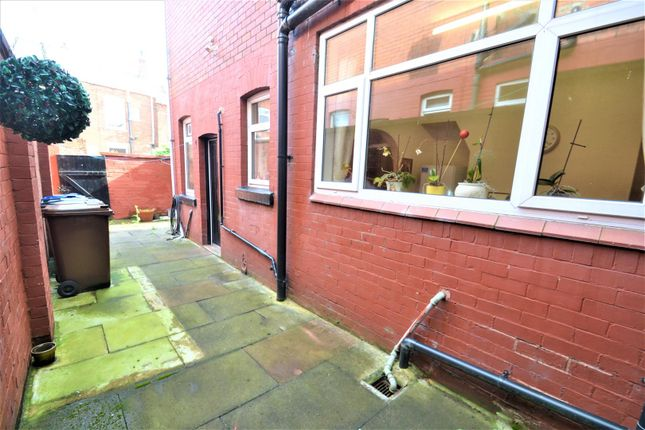 Rear Courtyard of Johnson Street South, Tyldesley, Manchester M29
