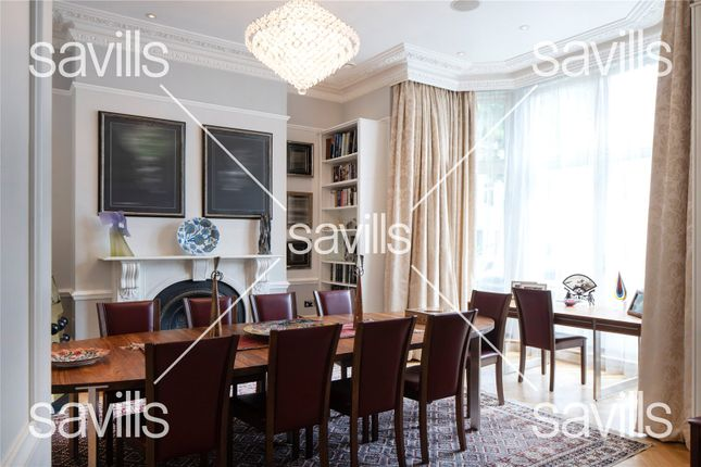 Dining Room of Buckland Crescent, Belsize Park, London NW3