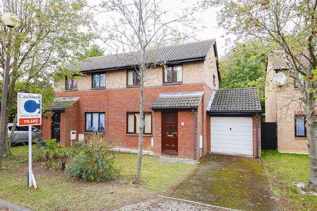 Thumbnail Semi-detached house to rent in Brayton Court, Shenley Lodge, Milton Keynes