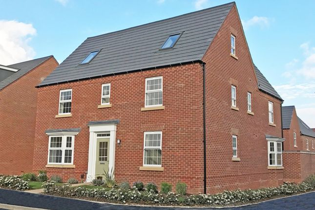 "Thumbnail Detached house for sale in ""Moorecroft"" at Tamora Close, Heathcote, Warwick"