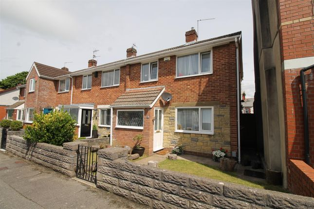 Thumbnail End terrace house for sale in Lewis Street, Barry