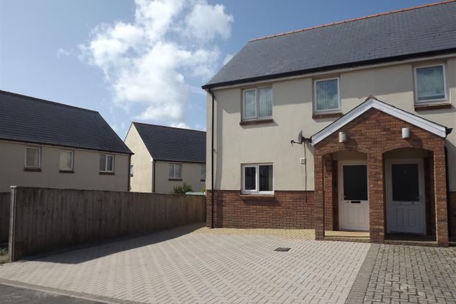 Thumbnail Semi-detached house to rent in 34 Derwent Avenue, Steynton, Milford Haven