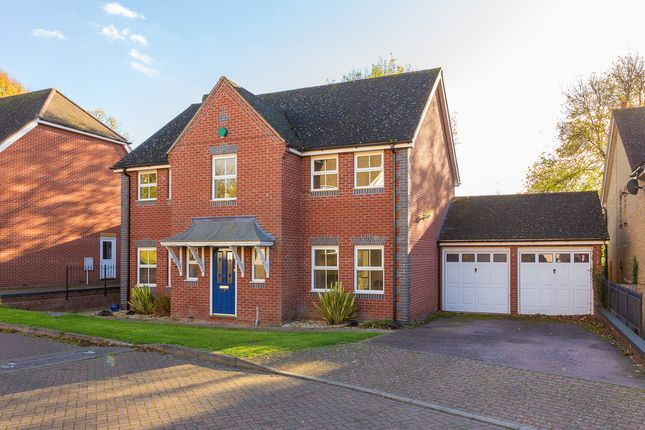 Thumbnail Detached house for sale in Limekiln Close, Royston