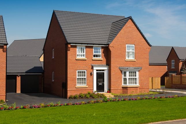 "Thumbnail Detached house for sale in ""Holden"" at New Road, Tankersley, Barnsley"