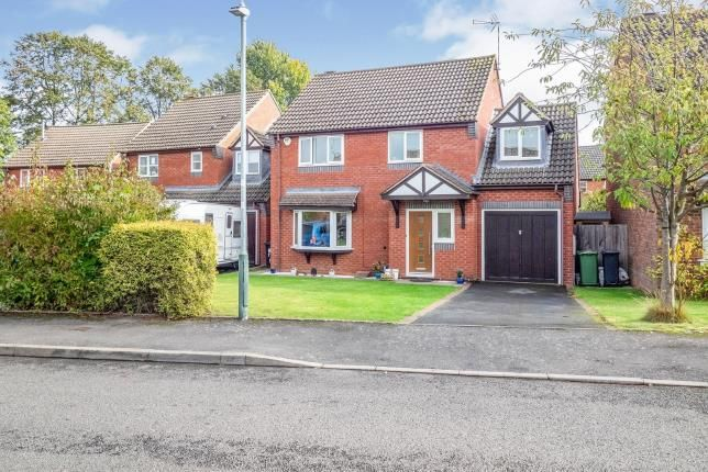 Thumbnail Detached house for sale in Goldacre Close, Whitnash, Leamington Spa, Warwickshire