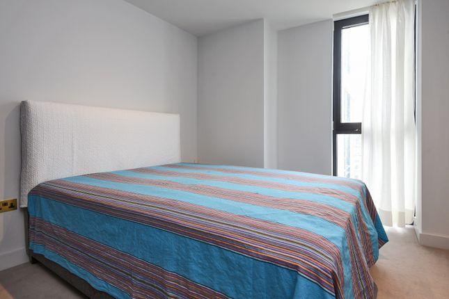 Bedroom of The Waterman, Tidemill Square, Lower Riverside, Greenwich Peninsula SE10