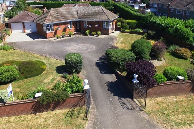 Thumbnail Detached bungalow for sale in Crick Road, Hillmorton, Rugby, Warwickshire
