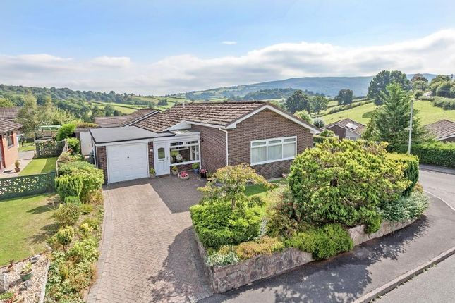 Thumbnail Detached bungalow for sale in Hill View Estate, Brecon Road, Builth Wells