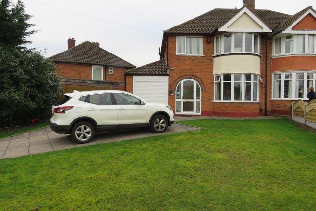Thumbnail Semi-detached house for sale in Wheeley Moor Road, Kingshurst, Birmingham