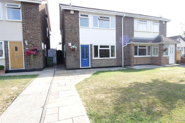 Thumbnail Semi-detached house for sale in Maytree Walk, Benfleet