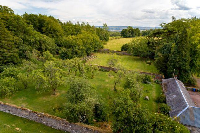 Aerial of Quarter, Denny, Stirlingshire FK6