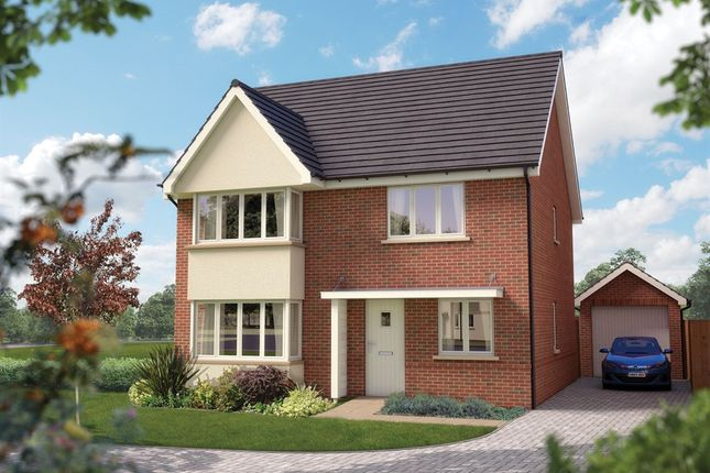 Thumbnail Detached house for sale in Longhedge, Old Sarum, Salisbury