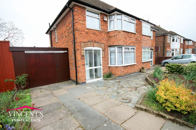 3 bed semi-detached house for sale in Edward Avenue, Leicester