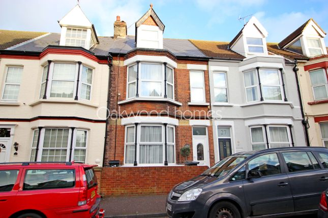 Thumbnail Terraced house for sale in Hatfeild Road, Westbrook, Margate