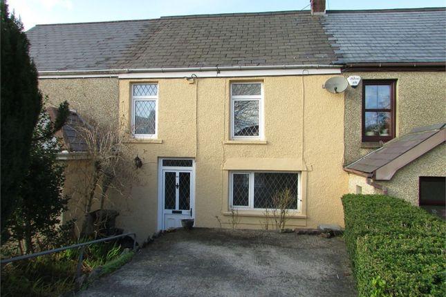 Thumbnail Terraced house for sale in Gwyn Street, Alltwen, Neath, West Glamorgan
