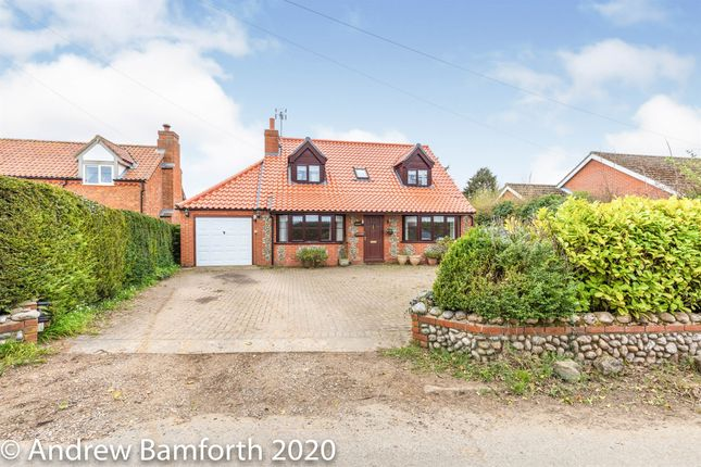 Thumbnail Detached house for sale in Weybourne Road, Bodham, Holt