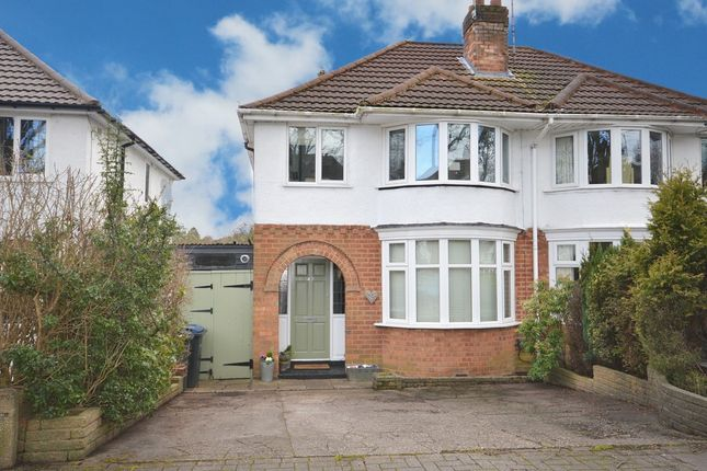 Thumbnail Semi-detached house for sale in Watwood Road, Birmingham