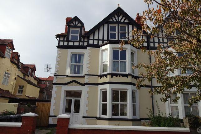 Thumbnail Flat to rent in Flat 3, Craig Y Don, Llandudno, Conwy