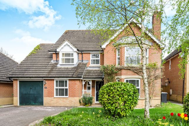 Thumbnail Detached house for sale in Whitebeam Close, Colden Common, Winchester