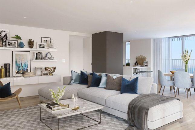 Lounge- CGI of Bayside Apartments, Brighton Road BN11