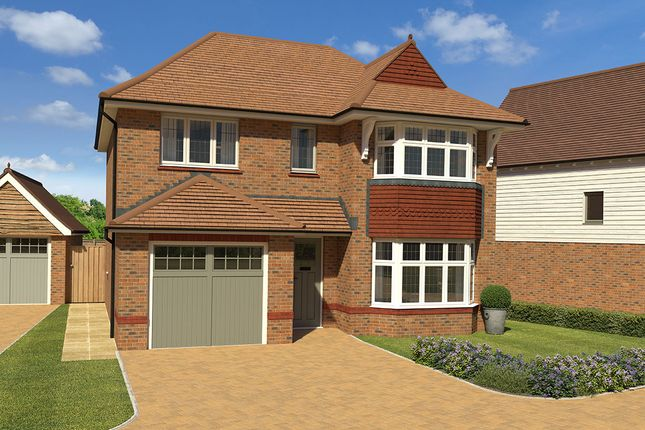 """Thumbnail 3 bed detached house for sale in """"Oxford Lifestyle"""" at Priory Way, Tenterden"""