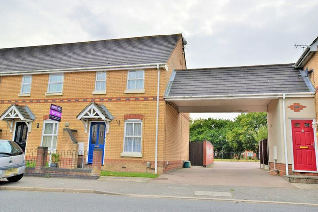 Thumbnail End terrace house for sale in Derwent Road, Colchester
