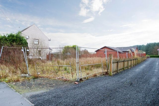 Thumbnail Land for sale in Princess Street, California, Falkirk, Forth Valley & The Trossachs