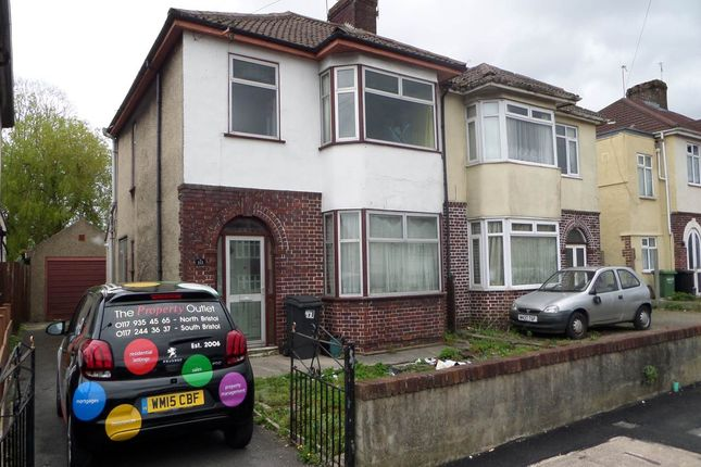 Thumbnail Semi-detached house to rent in Gloucester Road North, Filton, Bristol