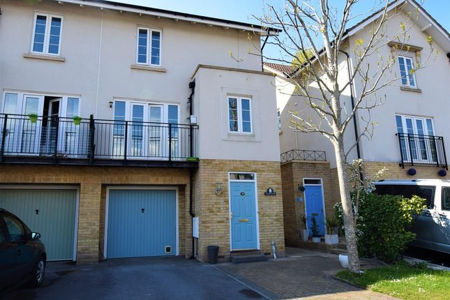 Thumbnail Town house for sale in Sally Hill, Portishead, Bristol
